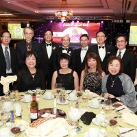 CREPSO Members at the 2017 Cancer Society Daffodil Ball