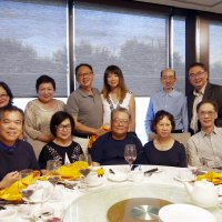 Retirement dinner for Sam Fung of Tridel on June 16, 2017